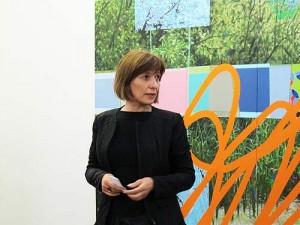 """Jüngstes Beispiel: Mirjana Peitler-Selakov eröffnet am 25.6.13 eine von ihr kuratierte Ausstellung in der """"Galerie Eugen Lendl"""" in Graz"""