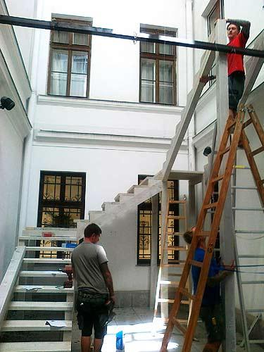 Wäre fein, wenn man die Treppe hinterher mit nachhause nehmen könnte ;-)