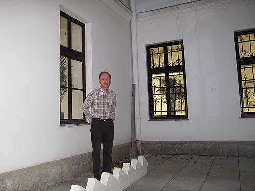 Franz Stangl vom Uni Graz Musuem