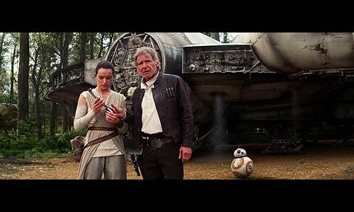 Han Solo bietet der talentierten Rey einen Job in seiner Crew an