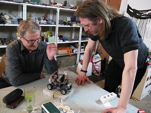 Ewald Ulrich (links) und Niki Passath