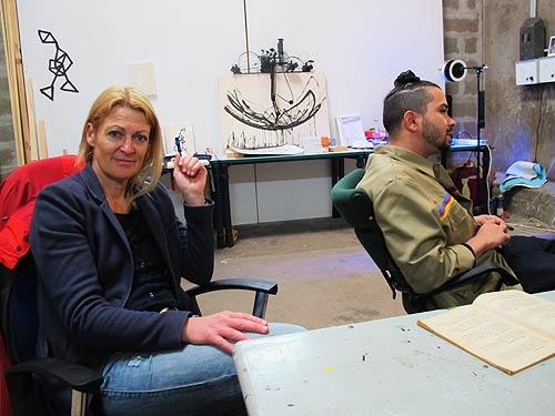 Ursula Glaeser und Robert Gabris