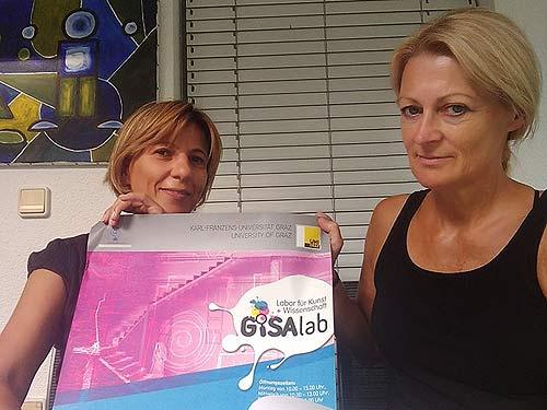 Mirjana Peitler-Selakov (links) und Ursula Glaeser