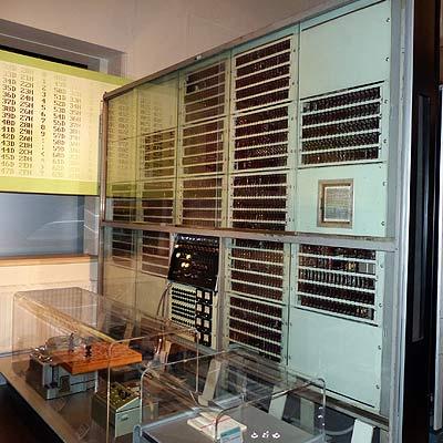 Transistorrechner Mailüfterl, Wien, 1957/58; Exponat im Technischen Museum Wien (Foto: Dr. Bernd Gross, Creative Commons)